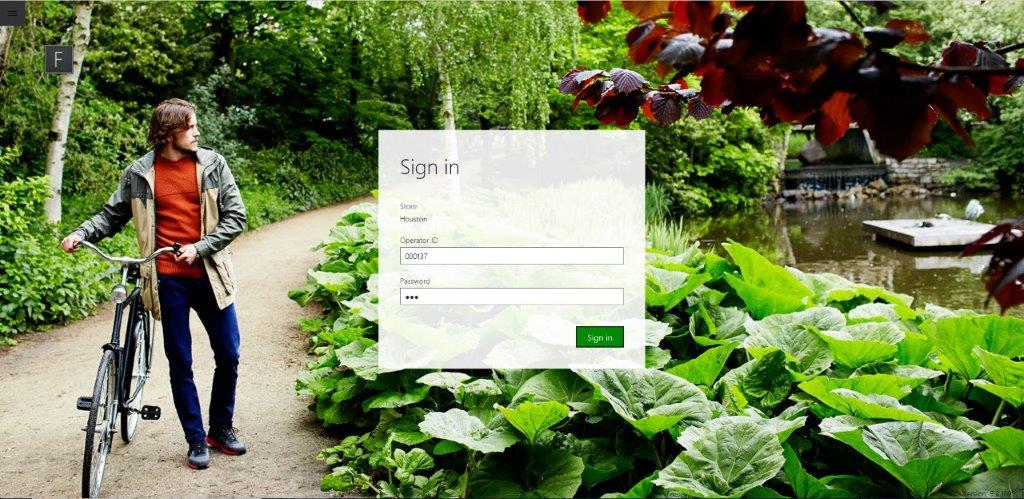 D365 for Retail POS Login and Authentication, Point of Sale Login